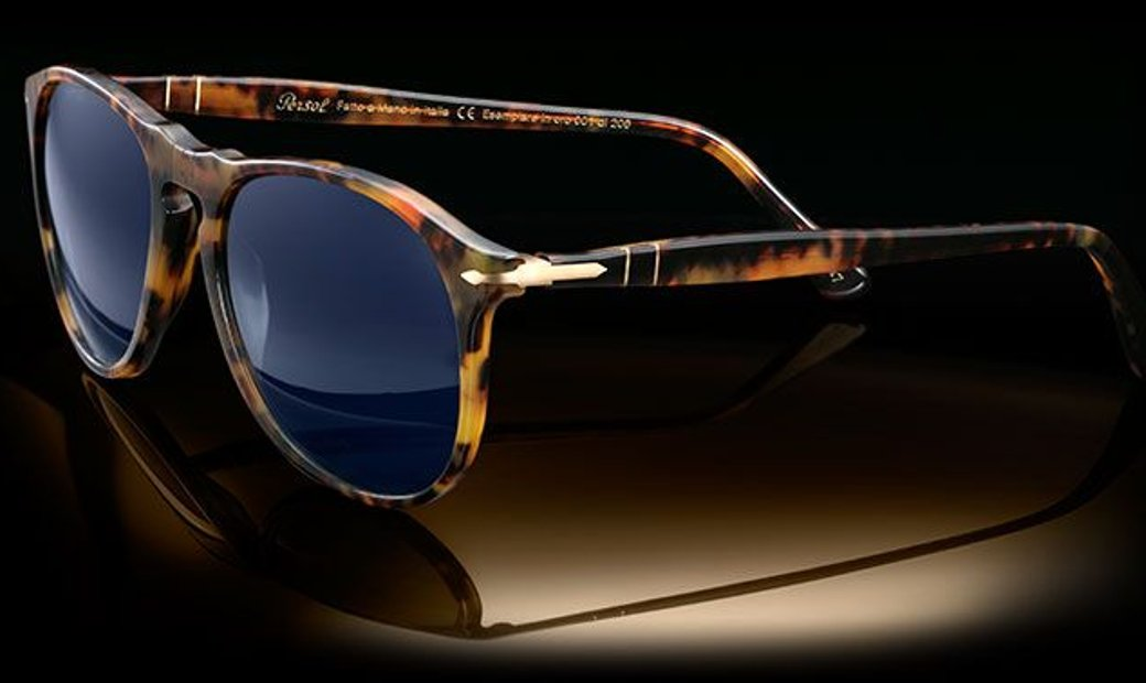 100th Anniversary Persol 9649SG 18k Gold, Number 45 of 200