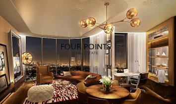 Furnished 2BR | Paramount Tower | Business Bay