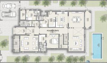 Med. 4 BR Villa   District One