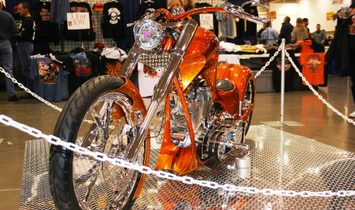 Custom Motorcycle, winning awards in 2 Easy Riders Bike Shows.