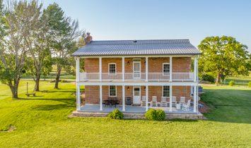 Beautiful Farm House On Over 100 Acres