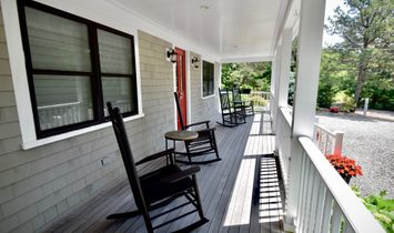Feel The Breeze On The Covered Front Porch