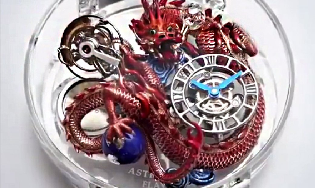 Jacob & Co. 捷克豹 Astronomia Flawless Imperial Dragon Tourbillon Watch