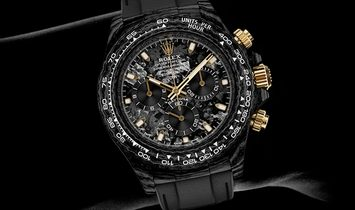"Rolex DiW Cosmograph NTPT Carbon Daytona ""BLACK & GOLD"" (Retail:US$49,990)"
