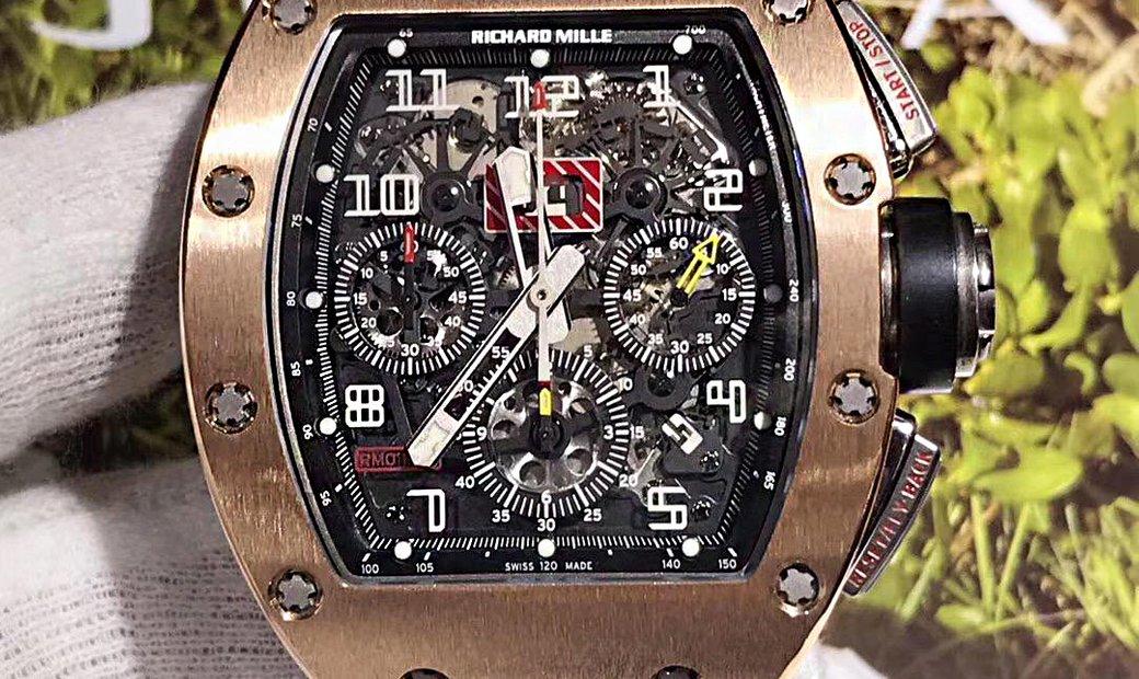 Richard Mille [WATCH ONLY] 'Felipe Massa' - Rose Gold RM 011