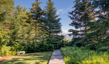 Lake Michigan Property With 181 Feet Of Waterfront