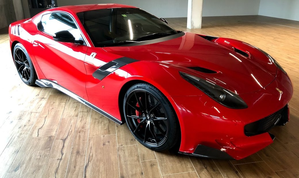 Ferrari F12 TDF limited edition for ultimate drive experience