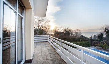 Villa with a lake view