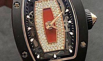 Richard Mille [NEW] RM 07-01 Ceramique Ladies TPZ-Z Black Ceramic Watch