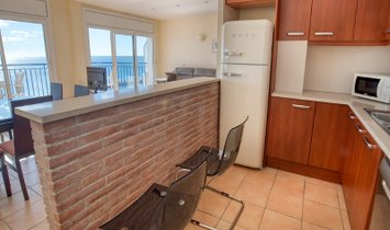 Stunning sea front apartment in Sant Antoni de Calonge