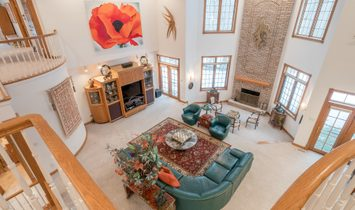 Giant Private Flossmoor Home!