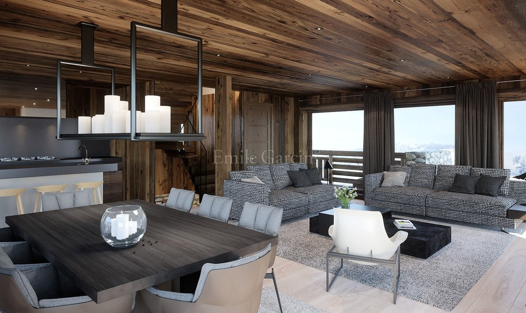 Apartment for sale in the centre of Megeve