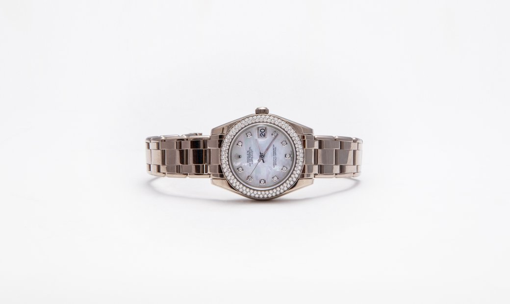 AgentAuction.co I Rolex Pearlmaster I View, Bid, Win I Published Reserve $30,000.00