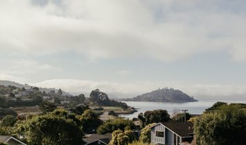 Architecturally Stunning 5 Bedroom Home With San Francisco Views