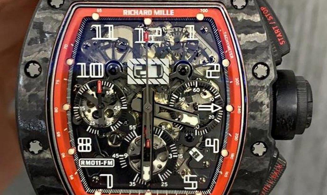 Richard Mille RM 011 Black Night NTPT Watch