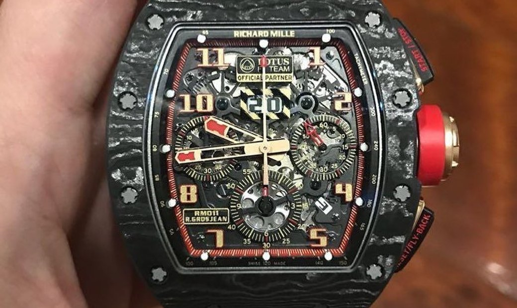 Richard Mille RM 011 Carbon NTPT Lotus F1 Team