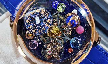 Jacob & Co. 捷克豹 [NEW] Astronomia Solar Zodiac Tourbillon AS310.40.SP.ZK.A