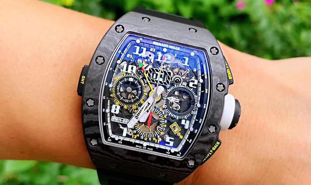 Richard Mille RM 11-02 Dual Time Zone Shanghai Edition
