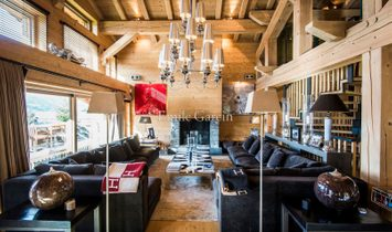 Exceptional chalet for sale in Megève