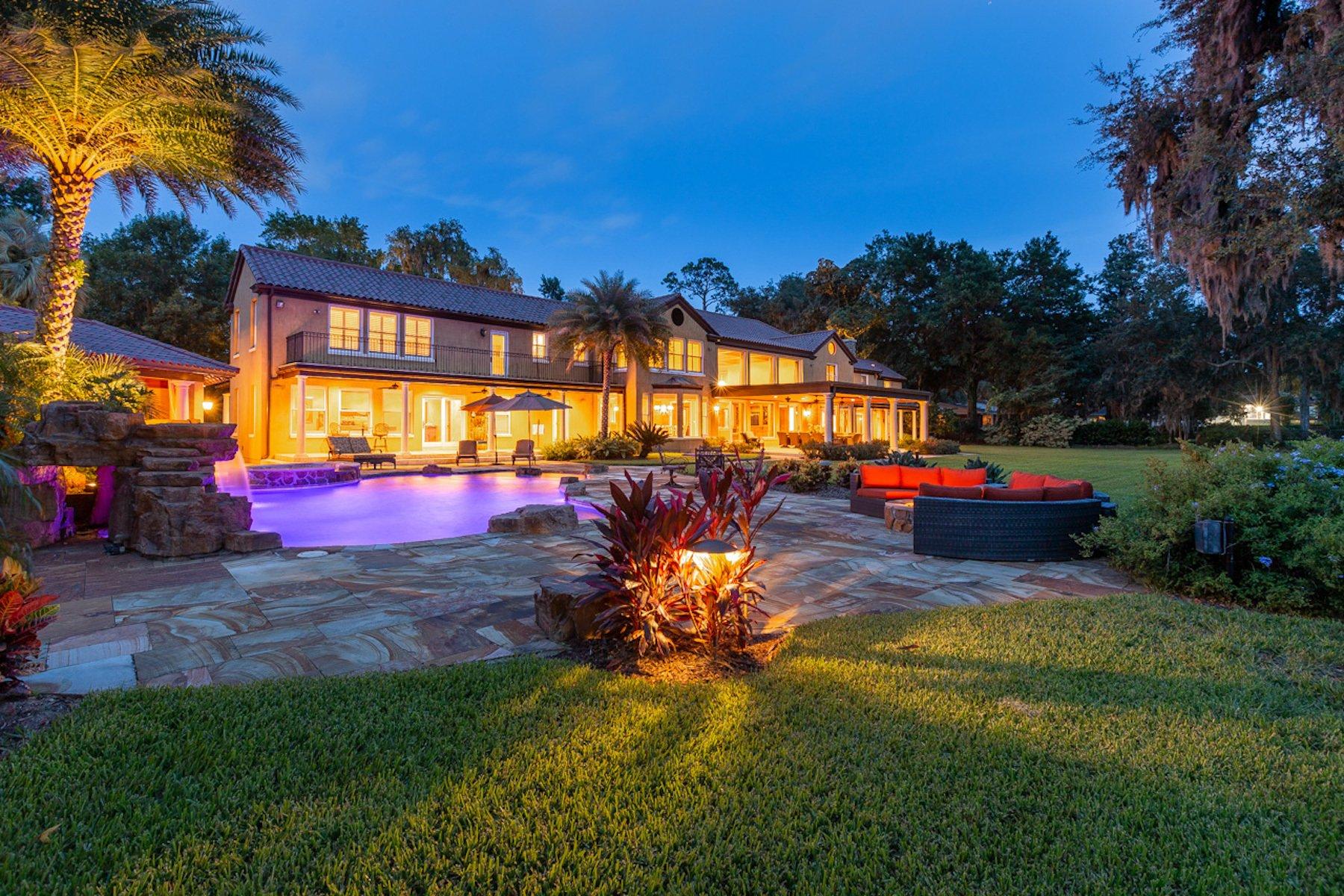 Luxury Mediterranean Estate In