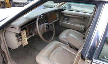 1981 Cadillac 4. Dr.