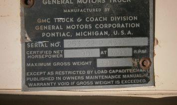 1951 GMC 1 ton flatbed