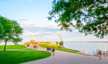 Finished Burlington Waterfront