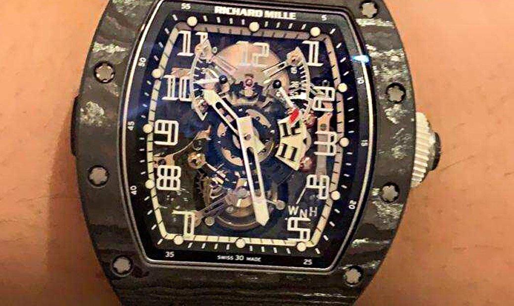 Richard Mille RM 003 NTPT Asia Edition Tourbillon Watch