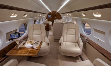 Gulfstream G550 - Luxury Private Jet Charter