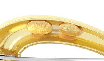 Henry Dunay Henry Dunay 18K Yellow Gold Brooch