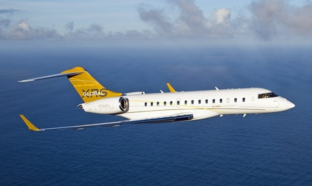 Global Express XRS - Luxury Private Jet Charter