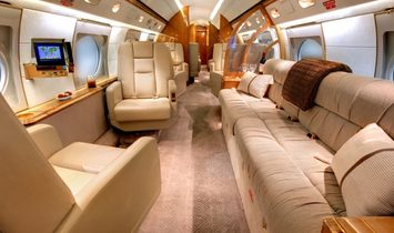 Gulfstream V (GV) - 14 Seats - Luxury Private Jet Charter