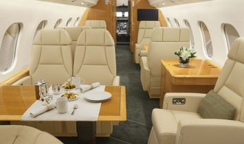 GLOBAL 6000 - Luxury Private Jet Charter
