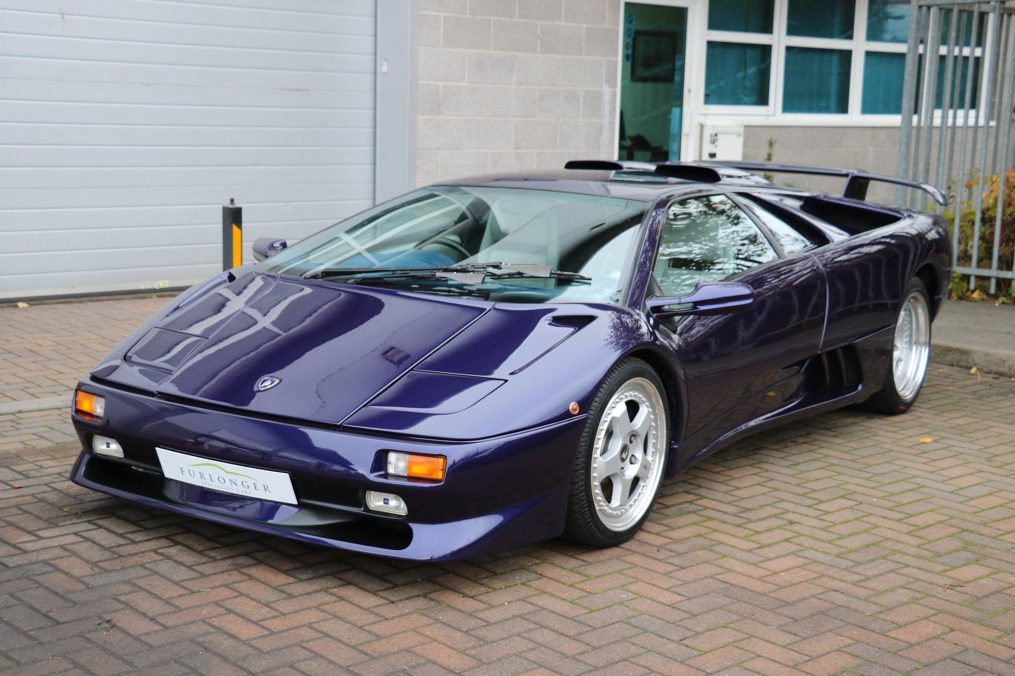 1998 Lamborghini Diablo Sv Rwd