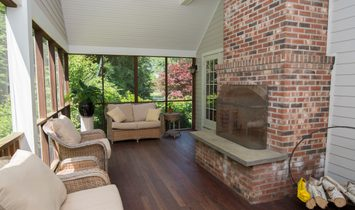 Beautiful Bunker Hill Contemporary Colonial