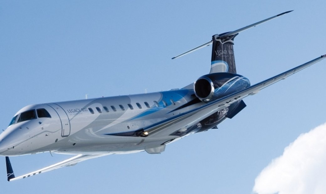 Embraer Legacy 600 - Luxury Private Jet Charter