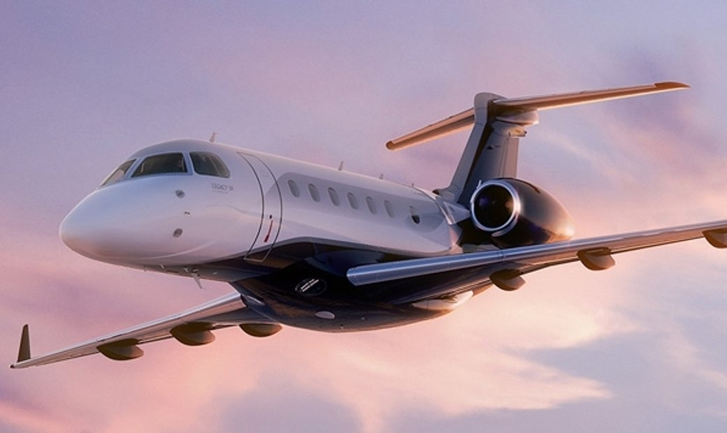 Embraer Legacy 500 - Luxury Private Jet Charter