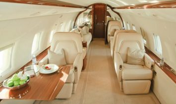 Bombardier Challenger 604 - Luxury Private Jet Charter