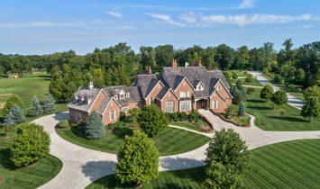House in Carmel, Indiana, United States