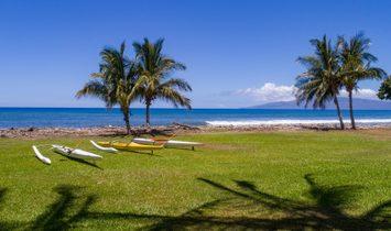 Spectacular Oceanfront Property   Olowalu, Maui Hawaii