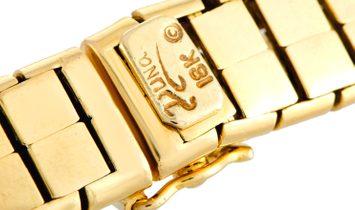 Henry Dunay Henry Dunay 18K Yellow Gold and Platinum Diamond Collar Necklace