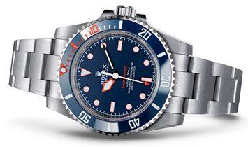 "Rolex Artisans de Genève Submariner No Date - ""ROUGH MATT DIVER"""