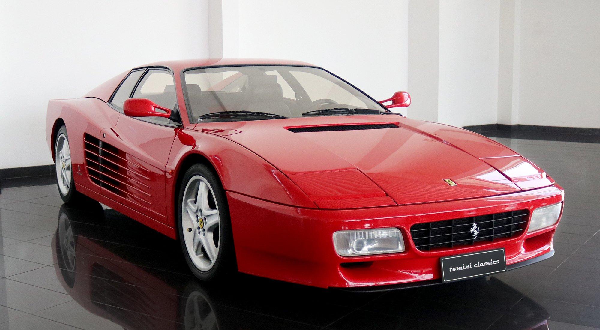 1992 Ferrari 512 Tr In Business Bay Dubai United Arab Emirates For Sale 10618742