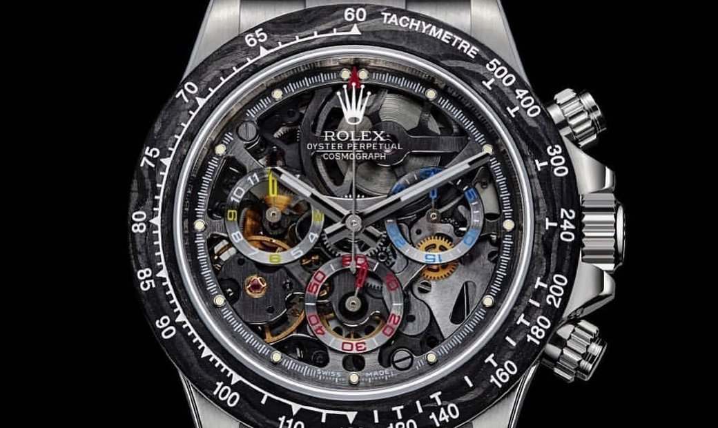 "Rolex Artisans de Genève Skeletonised ""La Montoya"" Daytona Watch"