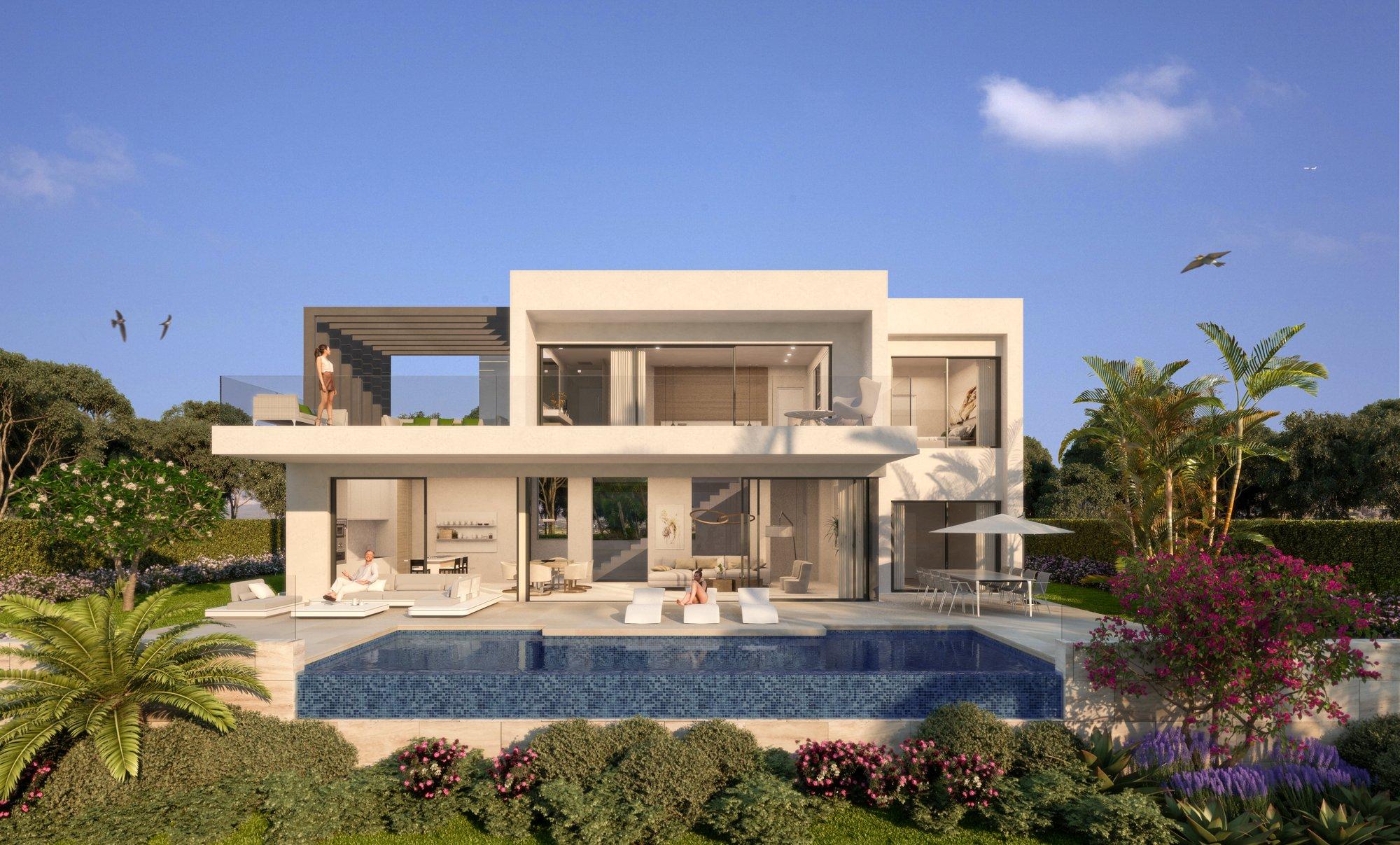 Villa in Estepona, Andalusia, Spain 1