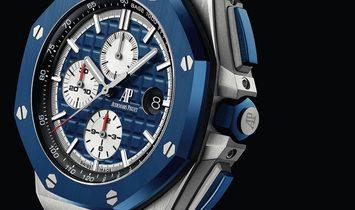 "Audemars Piguet Royal Oak Offshore Chronograph Blue Camouflage ""Camo"" 26400SO.OO.A035CA.01"