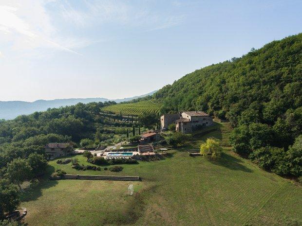 Estate in Lucolena in Chianti, Tuscany, Italy 1