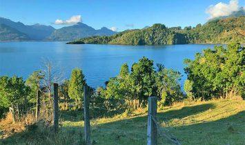 Ranco Lake shore