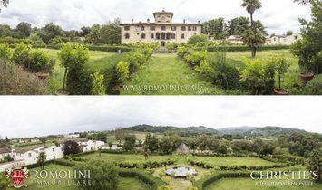 Tuscany - MANOR VILLA FOR SALE IN PISTOIA, TUSCANY