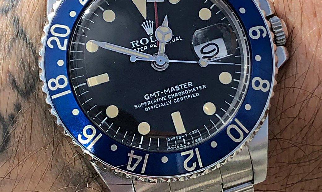 Rolex Vintage GMT-MASTER 1675 5.1 Serial Watch